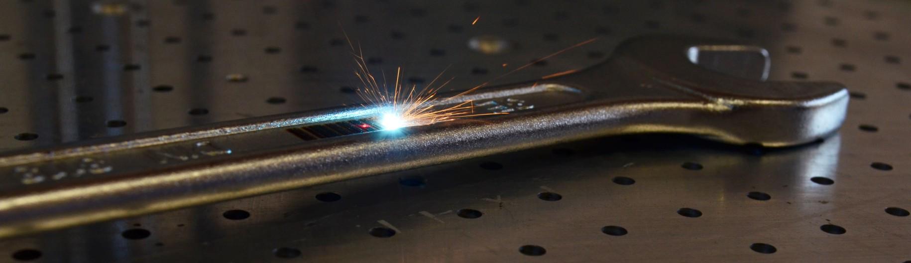 Znakowanie laserowe klucza