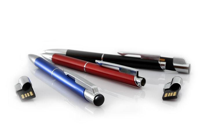 długopisy z pamięcią usb