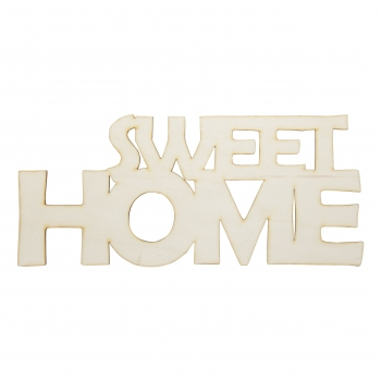 Napis SWEET HOME