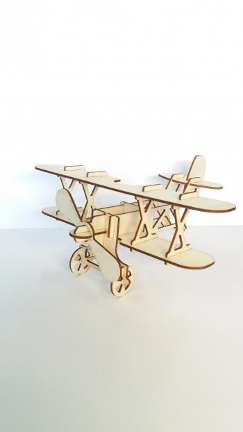 Samolot/ puzzle 3D