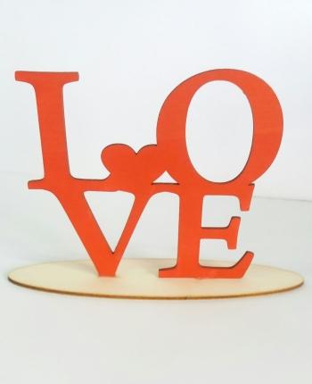 LOVE na podstawce